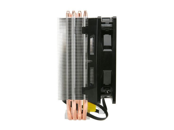 "COOLER MASTER Hyper 212 Plus RR-B10-212P-G1 ""Heatpipe Direct Contact"" Long Life Sleeve 120mm CPU Cooler Compatible with Intel 1366/1155/775 and AMD FM1/FM2/AM3+ - Newegg.com"