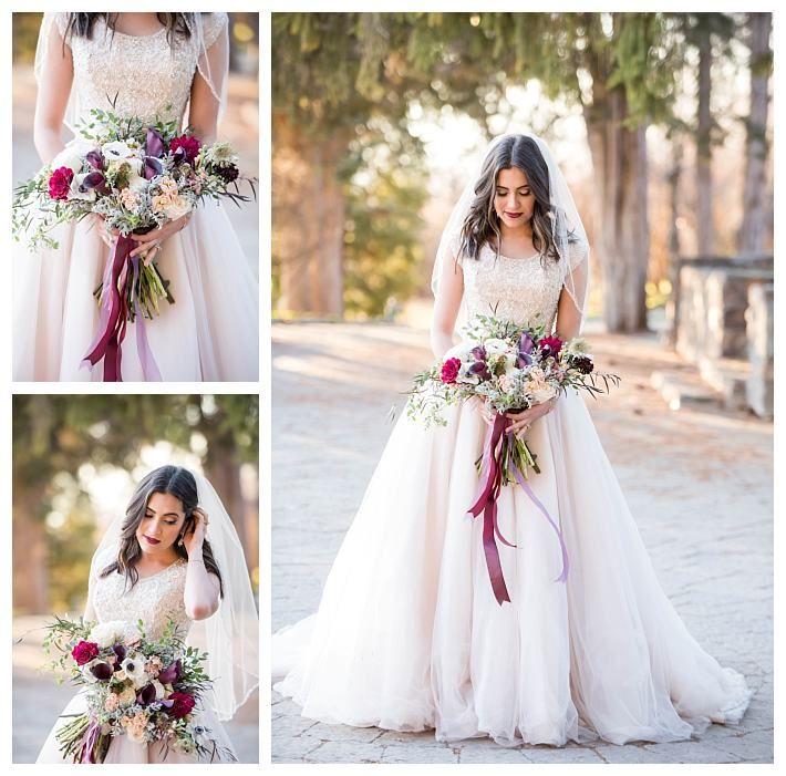 LDS bridals with a modest ballgown wedding dress | LatterDayBride at Gateway Bridal | SLC | Utah | Worldwide Shipping | Shop Online | LDS Bridals | Formals | Modest Wedding Dress | Arquette