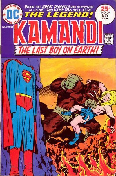 Kamandi The Last Boy On Earth! #29 (May 1975) by Jack Kirby