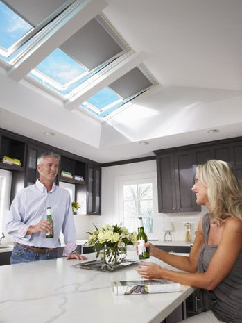Solar Powered Skylight Mean No Wires The Revolutionary