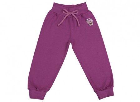 Pantalonaşi cu bandă lată în talie roșu ametist 100% bumbac | Cod produs: NID164