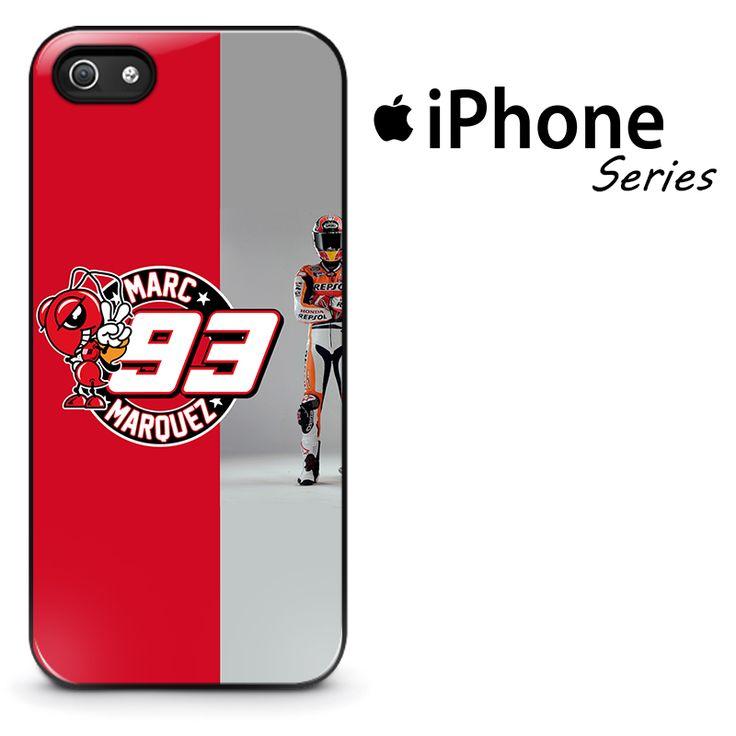 Marc Marquez Logo Red Ant Phone Case | Apple iPhone 4/4s 5/5s 5c 6/6s 6/6s Plus 7 7 Plus Samsung Galaxy S4 S5 S6 S6 Edge S7 S7 Edge Samsung Galaxy Note 3 4 5 Hard Case #AppleiPhoneCase #SamsungGalaxyCase #Yuicasecom