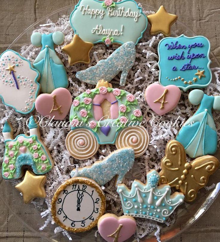 A princess birthday! - Claudia's Creative Cookies
