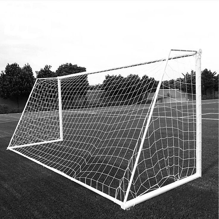 Aoneky Soccer Goal Net - 24 x 8 Ft - 2.5 mm Cord - Full Size Football Goal Post Netting - NOT Include POSTS. Length 24 feet, High 8 feet, Bottom Wide 6.56 feet, Top Wide 3.28 feet. High-strength polyethylene material. High impact, flexible, light and easy to assemble. Perfect for soccer ball practice and training. Only a net, not including the frame.