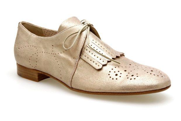 mocassins lacets pertini 9424 metal rose poudre chaussures femme v tements et accessoires. Black Bedroom Furniture Sets. Home Design Ideas