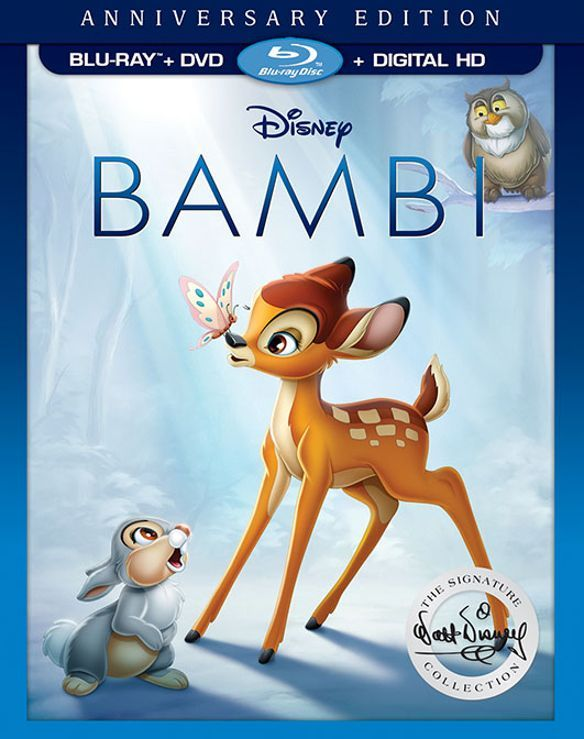 Bambi [Signature Edition] [Blu-ray/DVD] (English/French/Spanish) 1942 - Larger Front