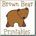"""Free Printables to go along with the book, """"Brown Bear, Brown Bear, What Do You See?"""""""