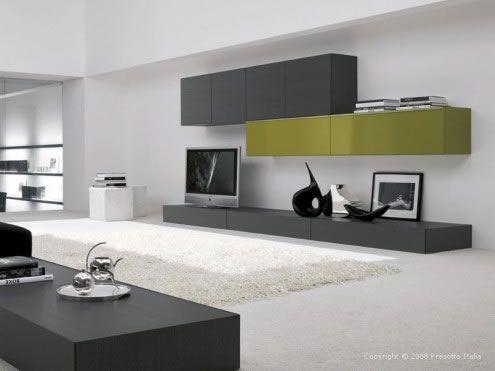 modern wall unit