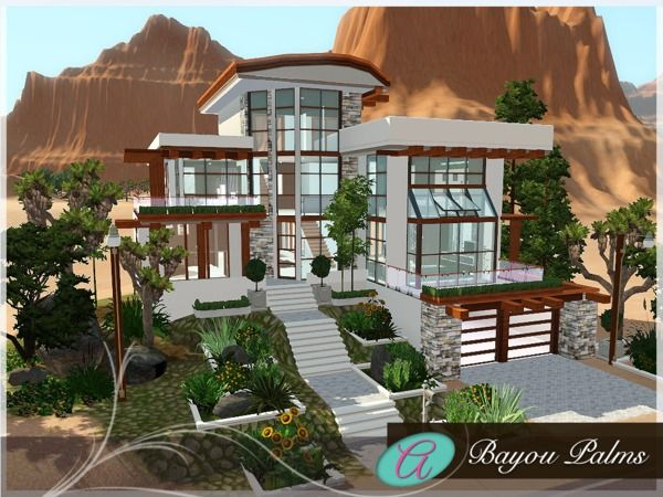 Bayou Palms house by Aloleng   Sims 3 Downloads CC Caboodle. 229 best The Sims 3 house design images on Pinterest