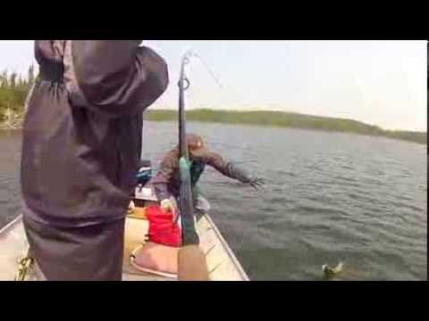 ▶ Fishing at Lawrence Bay Lodge in Saskatchewan Canada - YouTube