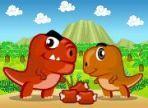Il piccolo dinosauro è inesperto in materia di caccia e il padre, da bravo educatore, lo aiuta a sfamarsi senza essere crudele. Usa le frecce e i tasti, a, d, w per muovere entrambi.
