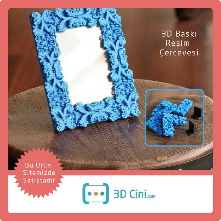 Kolay monta edilebilen 3D Baskı üretim, resim çerçevesi... www.3dcini.com  #3DYazıcı #3DPrinter #3DBaskı