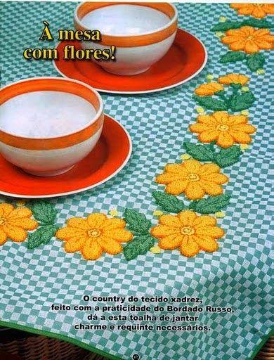 Artesanato com amor...by Lu Guimarães: Revista Bordado Russo nº 47
