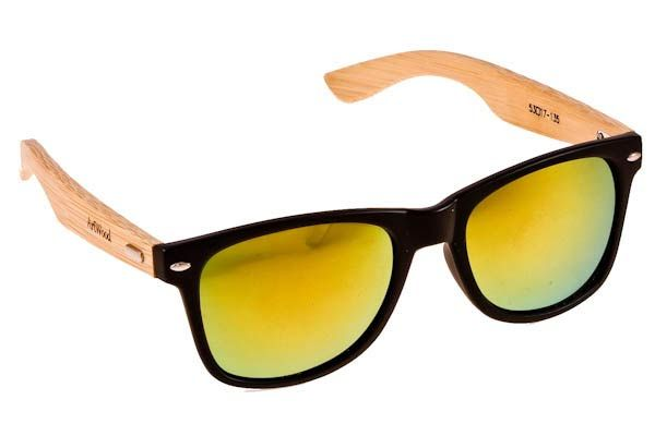 Γυαλια Ηλιου  Artwood Milano Bambooline 2 MP200 Black Gold Mirror Polarized - bamboo temples Τιμή: 100,00 € #eyeshopgr #artwoodmilano