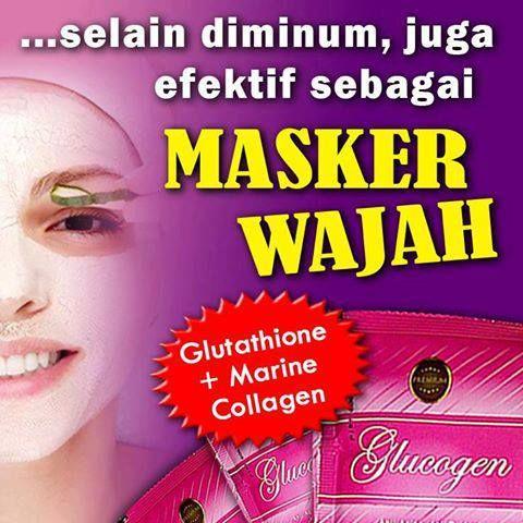Moment glucogen juga bisa dijadikan masker wajah