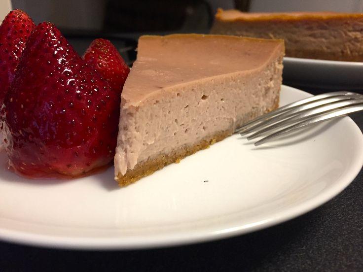 Strawberry Tequila Cheesecake – Gus Baldwin