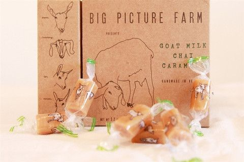 Chai Goat's Milk Caramel: GMO free, locally crafted, humanely raised