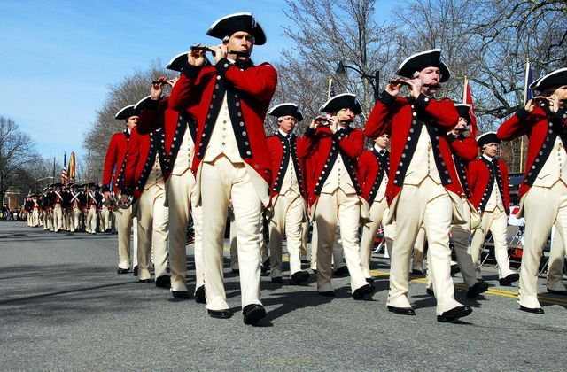 Patriots' Day date for 2017 - 2021, plus a guide to Patriots' Day events and traditions in Massachusetts and Maine.