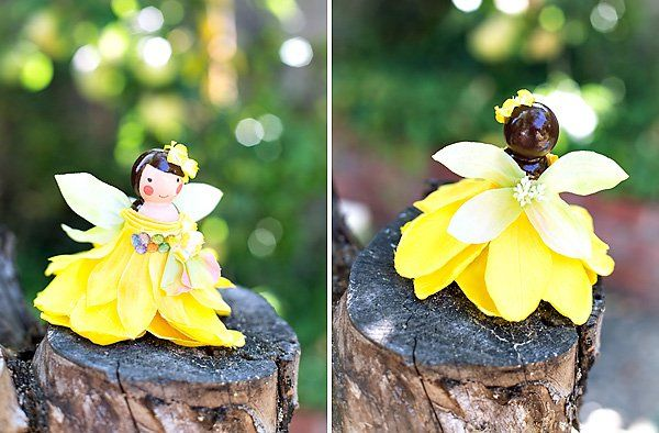 DIY Tutorial: Wooden Peg Fairy Dolls // Hostess with the Mostess®