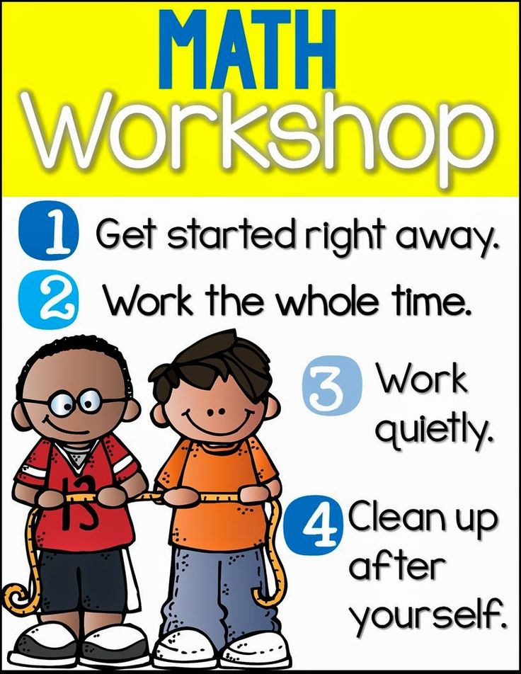 Launching Guided Math {A How To Guide} Free Teaching Posters