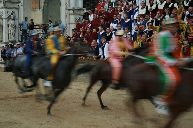Palio, August, 16th 2008 #Palio #Siena #Italy