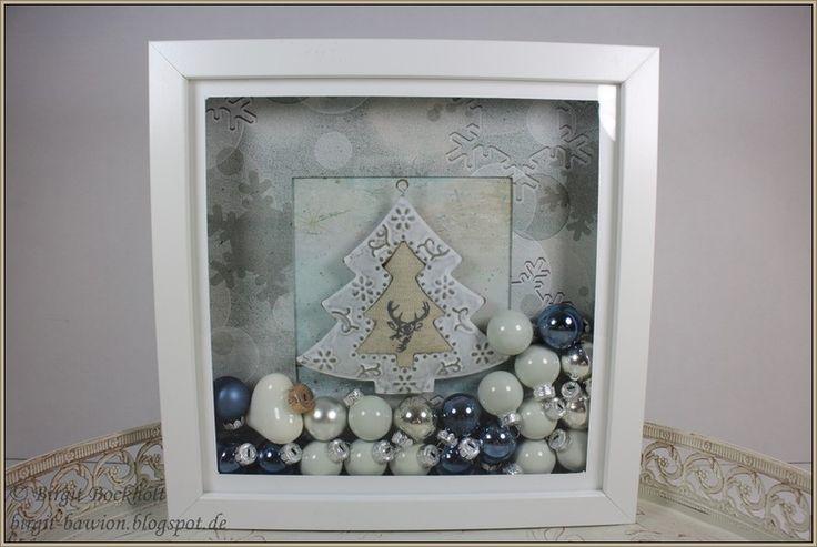 12 dezember weihnachtliche ribba rahmen birgit 39 s blog craft ideas pinterest. Black Bedroom Furniture Sets. Home Design Ideas