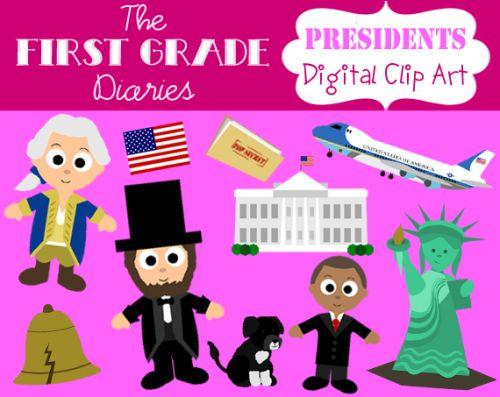 $3 Presidents Day Activity clip art