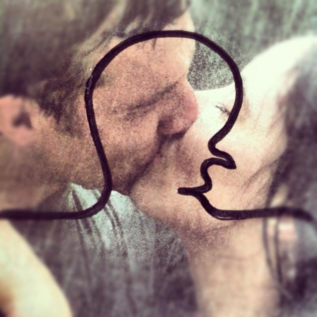 Cabeza beso
