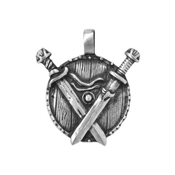 Viking Legends Crossed Swords 1.25 inch (32 mm) Pewter Metal Pendant (9.16 NZD) ❤ liked on Polyvore featuring jewelry, cross jewellery, cross pendant jewelry, crucifix jewelry, pewter jewelry and cross pendant