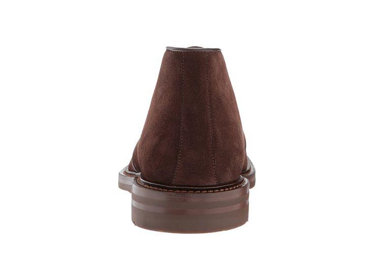 Aquatalia Raphael Men's Lace up casual Shoes Brown Suede