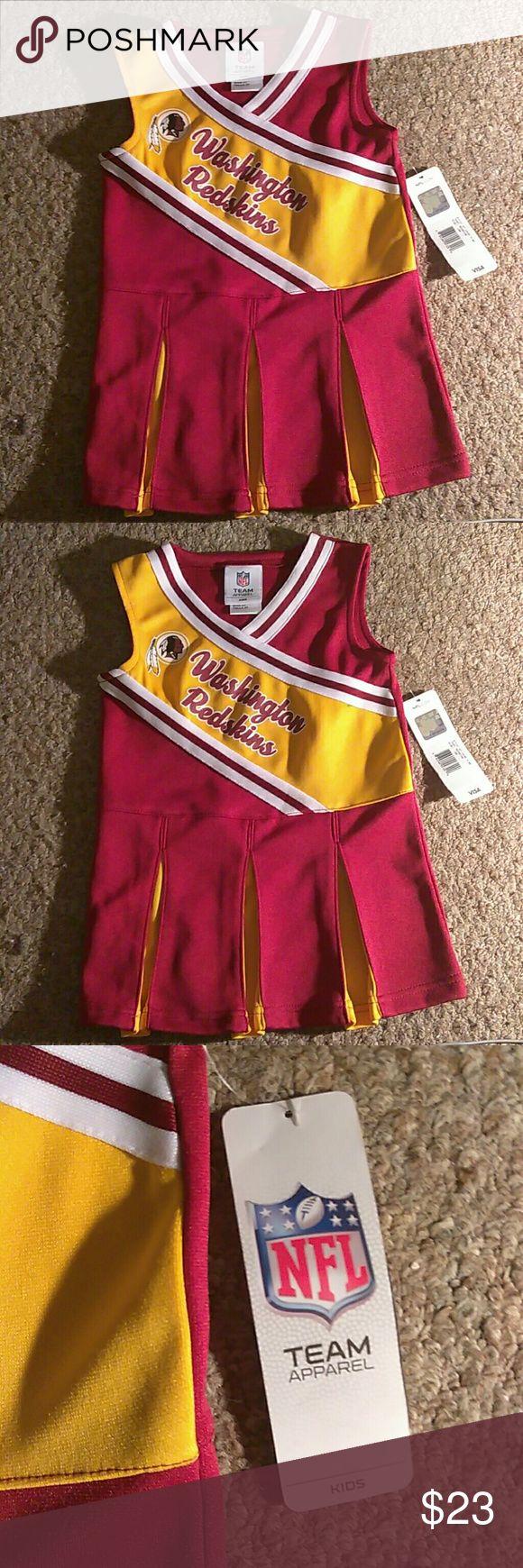 Redskin Cheerleader dres 3T Washington Redskin Cheerleader dress nfl team apparel Dresses Formal