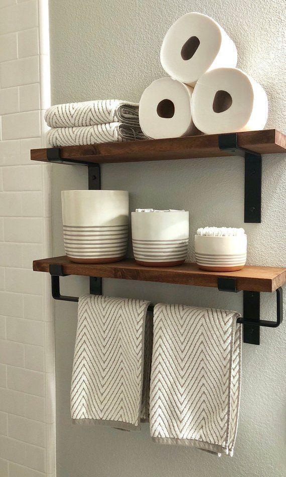 Metal Towel Bar Modern Bathroom Hardware Accessories Bathroom Towel Bar Modern Farmhouse Bathroom Home Decor