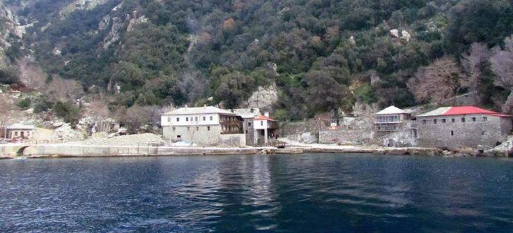 Ο αρσανάς της Ιεράς Μονής Γρηγορίου - The arsenal of the Holy Monastery of Gregoriou