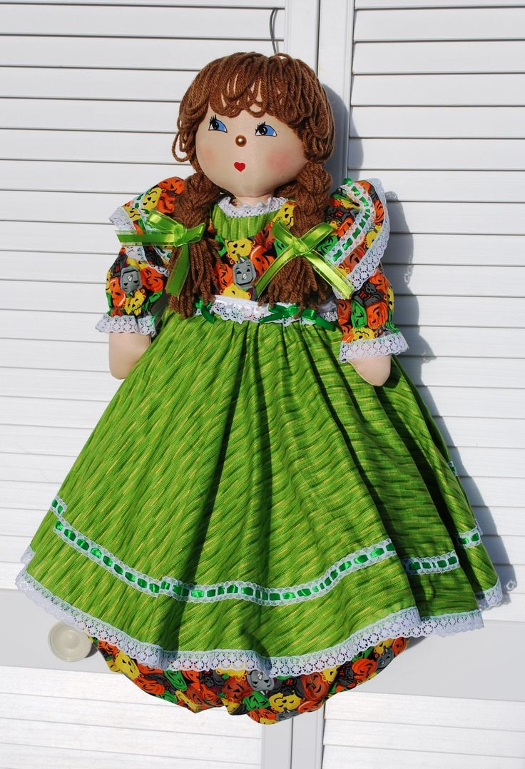 This is Lori, she is perfect for the fall holida season. She is ready for the harvest and Halloween.
