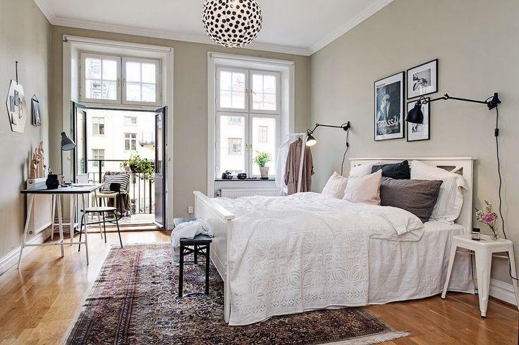 Dormitorio rústico chic. Ideas decoración #dormitorios | Decoración ...