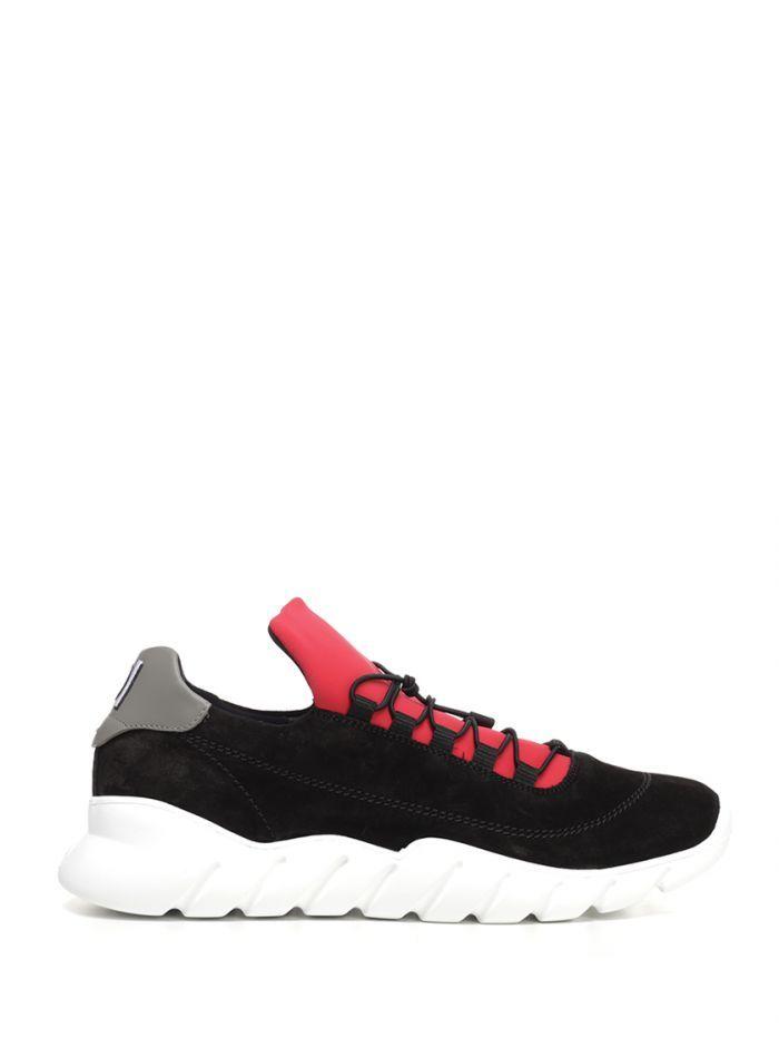 red fendi sneakers