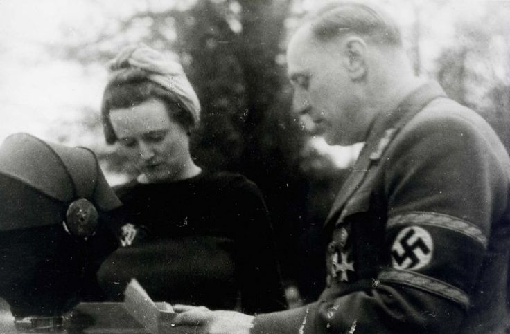 "William Joyce (nicknamed ""Lord Haw Haw"") and his wife, Margaret White, in Germany. Joyce broadcast German propaganda to Britain, aimed at demoralizing the population. His broadcasts always began with the announcer's words ""Germany calling, Germany calling, Germany calling"". At the height of his influence, Joyce had an estimated 6 million regular and 18 million occasional listeners in the United Kingdom."