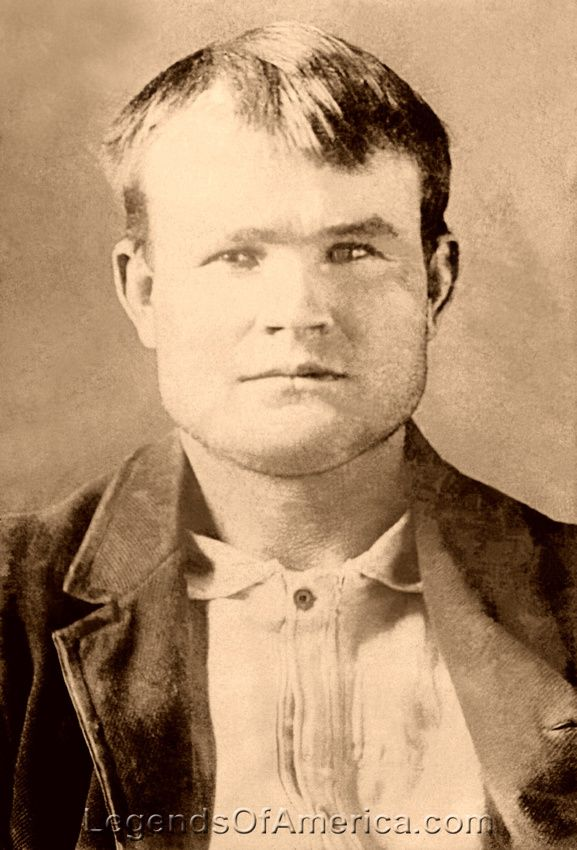 Butch Cassidy Outlaw- Butch Cassidy was the leader of the outlaw gang called the Wild Bunch. Photo: 1894 mug shot at Wyoming Territorial Prison.