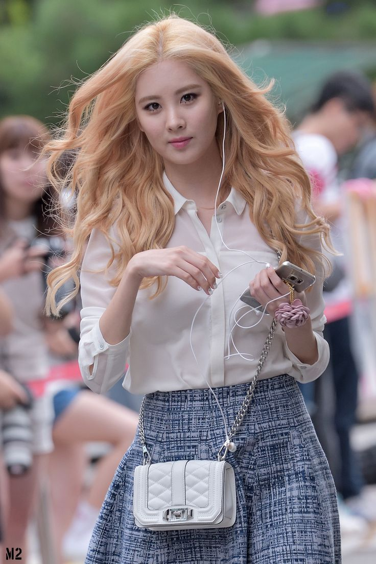 SNSD's Seohyun, she looks great in this pic love the hair! :)