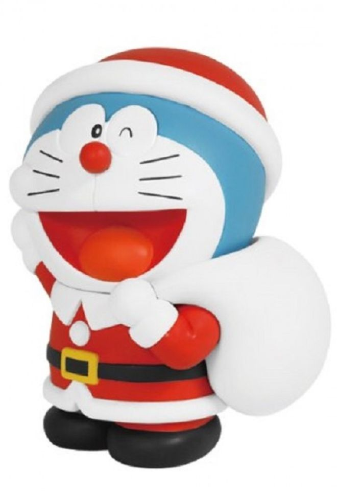 Doraemon Santa Claus Fujiko F Fujio Museum Limited Edition Figure Christmas