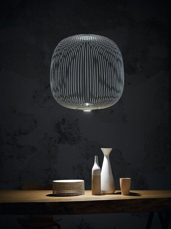 Spokes Foscarini lampada sospensione led 4 via www.housemag.it