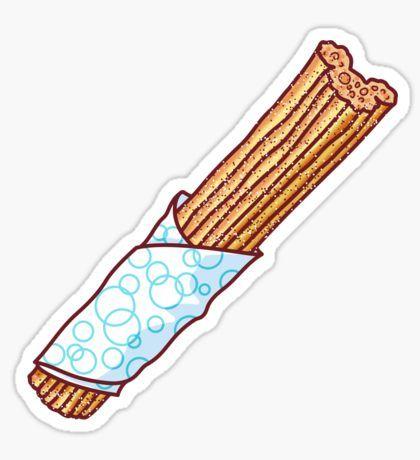 Churro Sticker