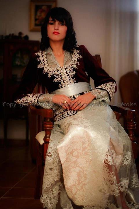 Algerian Fashion: karakou dress