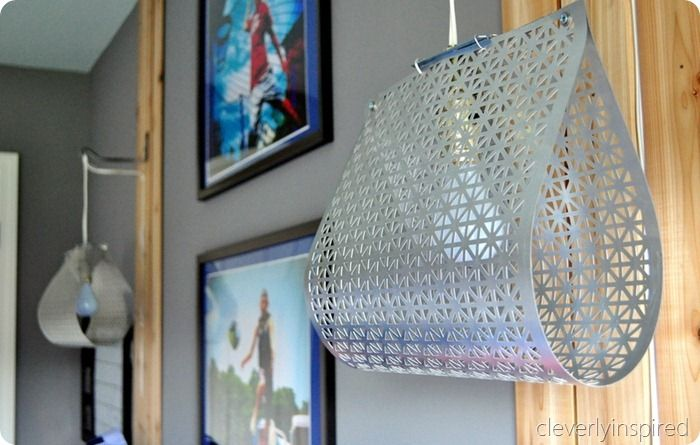DIY light fixture (do it yourself light)