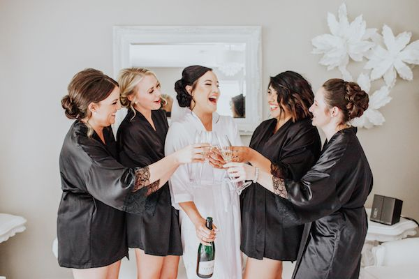 47++ Black bridesmaid dressing gown inspirations