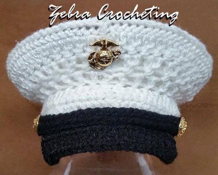 Crochet Baby Marine Hat Pattern : 33 best images about baby crochet on Pinterest Crochet ...