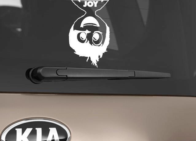 Joy Car Decal Inspired  Vinyl Window Decal  Car Sticker  Inside - Vinyl window decals for cars