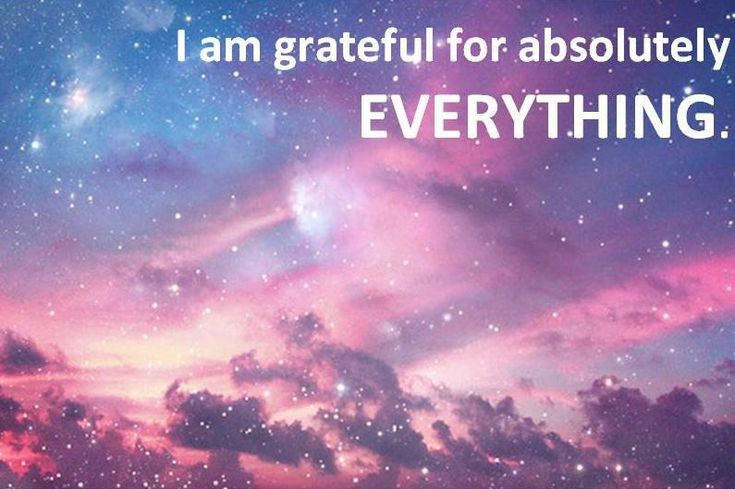 It is so important that you are grateful for everything in your life. Many people focus on the one thing they want and then forget to be grateful for all the things they have. Without gratitude for everything you have, it's going to be a very slow journey to get what you want. The law of attraction and the Universe love gratitude, so MILK IT!