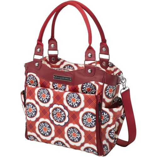 giveaway petunia pickle bottom city carryall bags chic and diaper bags. Black Bedroom Furniture Sets. Home Design Ideas