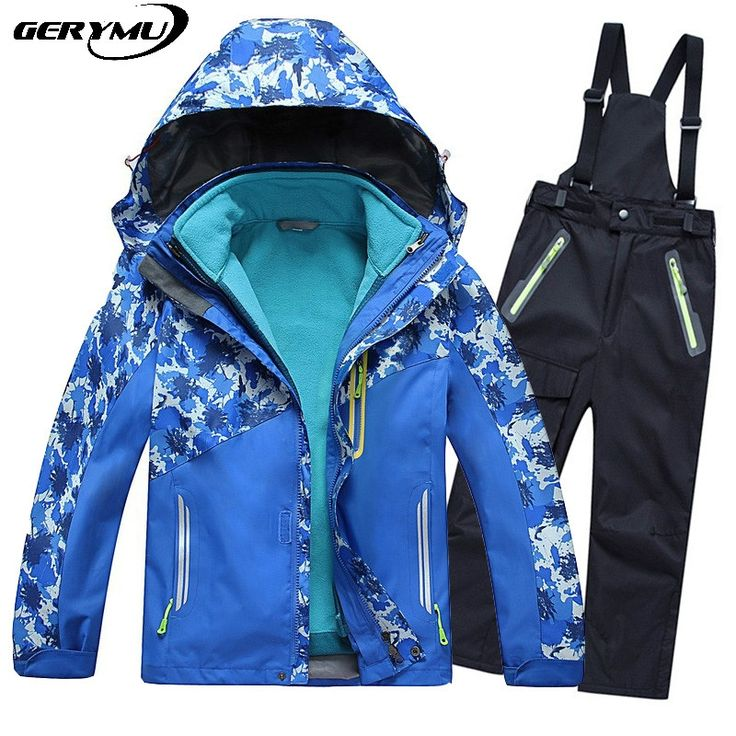 120.00$  Watch now - http://aliflx.worldwells.pw/go.php?t=32690361201 - Childrens Outdoor Snowboard Suit Winter Hunting coat  Pants Kids Snowboard Warm Camping Hiking Climbing Cross Country Skiing